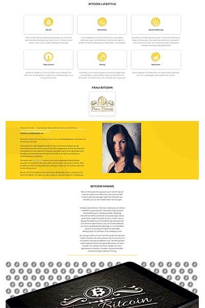 Webdesign für frau-bitcoin.at